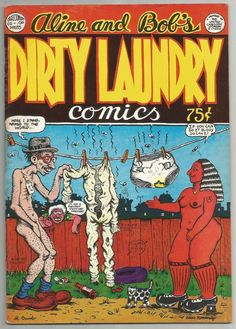 Dirty Laundry Comics Robert Crumb Aline Kominsky 1st P 1974 Cartoonist's Co Op | eBay
