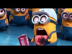 """Despicable Me 2 - Clip: """"Minions Tasting Gru's Jelly"""" - Illumination Minion Games, Minion Gif, Minion Craft, Despicable Me 2 Minions, Cute Minions, Funny Minion Videos, Cute Minion Quotes, Minions What, Hidden Letters"""