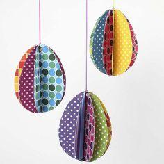 Æg i Color Bar karton |DIY vejledning