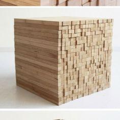 Table Pixel par Intussen Studio - Journal du Design