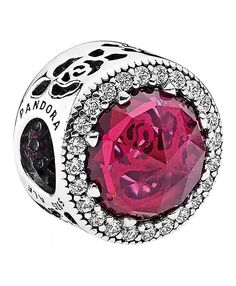 Pandora Disney Belle's Radiant Rose Cerise Crystals & Cubic Zirconia