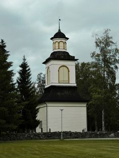 Lutheran Church bell tower Alavus, Finland.