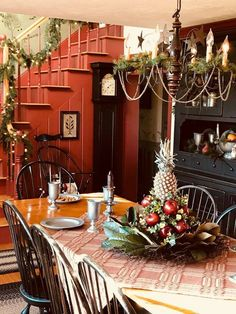 684 Best Colonial Christmas Decor Images In 2019 Christmas