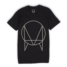 Black 'OWSLA Logo' T-Shirt // Unisex | Skrillex: