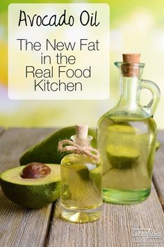 These are the Traditional fats we typically hear so much about. Then avocado oil made its way into my kitchen. I predict that avocado oil is going to have a secure spot on our list of healthy fats Healthy Fats List, Healthy Oils, Healthy Eating, Healthy Cooking, Clean Eating, Stay Healthy, Whole Food Recipes, Cooking Recipes, Healthy Recipes