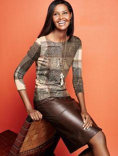 Talbots - Leather Pencil Skirt | Skirts |