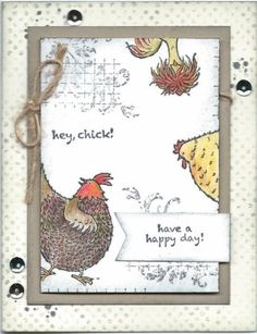 Stampin' Up! Hey Chick SAB 2017: