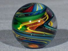 Marbles-Hand-Made-Art-Glass-James-Alloway-Dichroic-Marble-1843-1-1inch