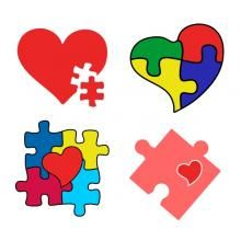 Autism Awareness SVG Cuttable Designs