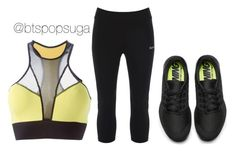 """""""Sistar Shake It inspired outfit Part2/3"""" by alinamauh ❤ liked on Polyvore featuring Michi, Bench and NIKE"""