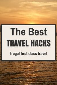 Using the best travel hacks I know