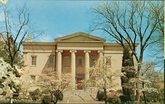 Old Governor's Mansion Milledgeville, Georgia. - Front Side by GCSU Library Special Collections, via Flickr