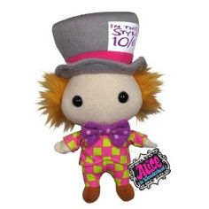 Alice in Wonderland: Mad Hatter Plush (Toy) http://www.amazon.com/dp/B002X9YDF4/?tag=pin-spcl-20