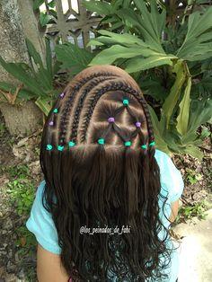 Lil Girl Hairstyles, Dope Hairstyles, Kids Braided Hairstyles, Celebrity Hairstyles, Little Girl Braids, Braids For Kids, Girls Braids, Girl Hair Dos, Baby Girl Hair