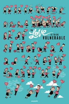 To love is to be vulnerable zen pencils poster – Zen Pencils Cute Relationship Goals, Cute Relationships, Very Funny Memes, Faith In Humanity Restored, Fun Comics, Cute Quotes, Thought Provoking, Comic Strips, Book Quotes