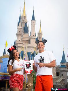 Disney baby announcement ❤️