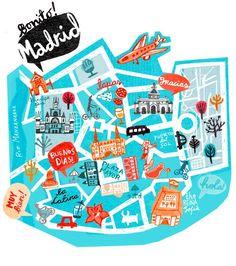 How to visit #Madrid - Bonito Madrid!