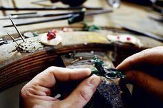 Confectionat aplicatie de argint sau aur pentru verighete,inele