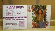 Diana Ross Bonnie Pointer Records. The Boss, Ross, and Bonnie Pointer. 2 items.