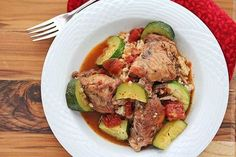 Easy Braised Chicken and Red Wine @ Jeanette's Healthy Living