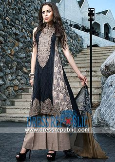 Kalyan Pakistani Branded Designer Dresses 2014  Embroidered Cotton Collection for Eid 2014 by Z.S Textiles. by www.dressrepublic.com