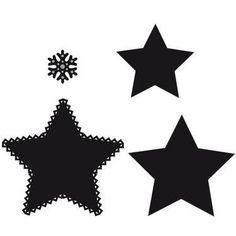 CR1226 Wykrojniki Craftables - Star