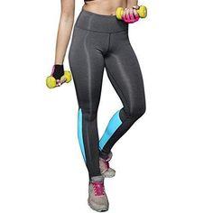 Oferta: 3.78€. Comprar Ofertas de HARRYSTORE Mujer Pantalones elásticos de yoga de alta cintura Mujer Pantalones deportivos cómodos mujer Polainas Fitness Legg barato. ¡Mira las ofertas!