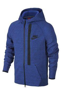Nike+'Tech+Fleece'+Full+Zip+Hoodie+(Little+Boys+&+Big+Boys)+available+at+#Nordstrom