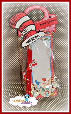Cathie's Scrap Cafe: CAT IN THE HAT GOODIE BAG