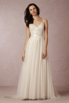 Persiphone Gown by @watterswtoo for @BHLDN   #BHLDNspring15