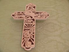Wood Cross tells the Story of Creation by ShirleysWorkshopp, $60.00