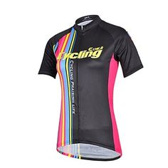 CHEJI Womens High Quality Ultraviolet Resistant Terylene Short Sleeve Cycling Jersey��Black http://mxpi.co.nf/?item=1892211