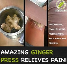 How To Make A Ginger Press To Relieve Pain...http://homestead-and-survival.com/how-to-make-a-ginger-press-to-relieve-pain/