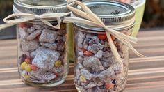 GingerbreadPuppy Chow   You're in for a treat today! We took one of our favourite snacks and gave it a festive update! Gingerbread Puppy Chow is a quick and easy snack that will wow your holiday guests.     I think that it is safe to