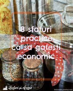 8 sfaturi ca sa gatesti economic
