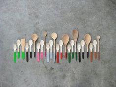 Wooden Spoons by Marije Vogelzang