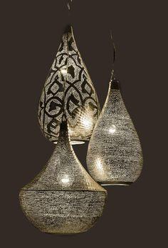 Zenza Elegance Filigraine Small Pendant Light - - Pomegranate Living with Style
