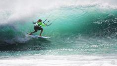 kitesurfing (Matchu Almeida)  kitesurfing, waves,ocean