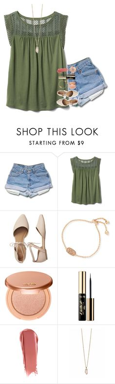 """joy"" by beingrach ❤ liked on Polyvore featuring Gap, Kendra Scott, tarte, NARS Cosmetics, Zoya and Topshop"