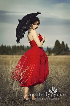 Rock Your Frock, Senior, Prom, Vintage session in the field