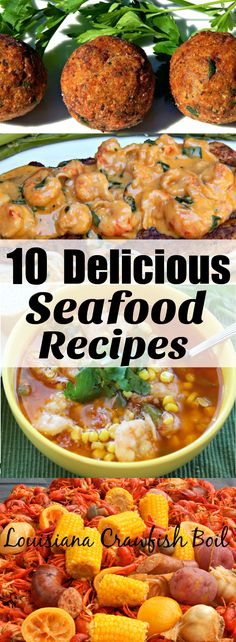 These 10 Delicious Seafood Recipes are my most popular recipes on my site. A few of the recipes were published in magazines or featured on other websites. I finally decided to make a round-up of the recipes making it easier for people to find them. The majority of the recipes I'm sharing use two of…