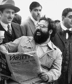 1974 - Godfather II - Robert De Niro + Francis Ford Coppola #Godfather #RobertDeNiro #FrancisFordCoppola