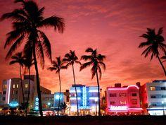 South Beach, Miami.  Art Deco