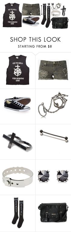 """ABC about me quiz"" by rocketsheep ❤ liked on Polyvore featuring Hudson Jeans, Converse, Gisele Ganne, Pull&Bear, Hot Topic, Cast of Vices and Juicy Couture"