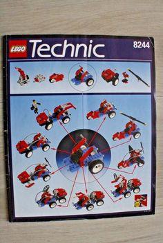 Lego 8244 INSTRUCTION BOOK Technic Convertibles #Lego Lego Instruction Books, Lego Technic, Lego Instructions, Lego Building, Convertible, Clock, Ebay, Women's, Watch