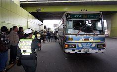 Alcaldesa de Lima constató normalidad en el transporte público
