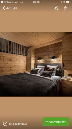 Wear wood Source by huibauer Chalet Design, House Design, Chalet Interior, Interior Design, Barn Loft Apartment, Rustic Master Bedroom, House In The Woods, Log Homes, Cabin