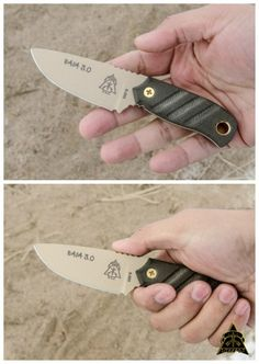 Tops Knives Baja 3.0 Mini EDC Fixed Knife Blade