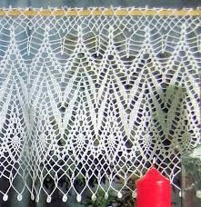 Resultado de imagem para gráficos de cortinas de croche