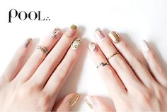 coordinate of Nails and Phalange rings POOL / e.m.